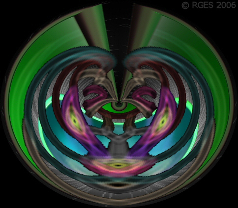 Cat Attractor   Third Eye Ball © RGES