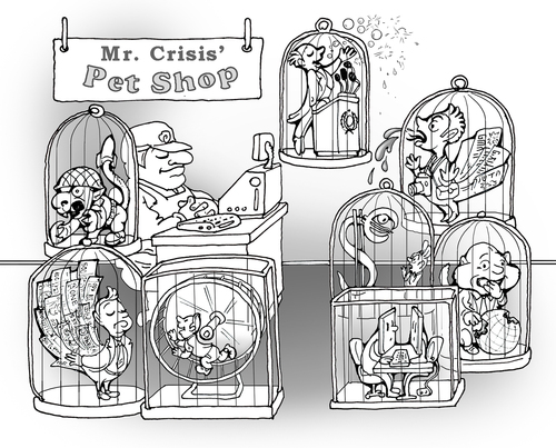 Mr Crisis Pet Shop